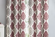 Window Curtains / The perfect window curtains can add a great touch of style to any room!  See our entire selection of curtains at www.GreyDock.com.