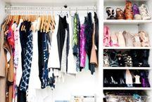 Closet organization  / Closet storage ideas