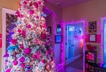 Pink Realty Pink Christmas / At Pink Realty we love a Pink Christmas!