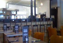 Le Bar à Burger - Paris - Test du 22 avril 2014 / Ouvert du mardi au samedi de 12 à 15 heures et de 19 heures 30 à 23 heures. Le dimanche pour le brunch (26 €) de 11 h 30 à 16 h.