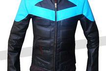 Nightwing Dick Grayson Costume / Nightwing Ismahawk Dick Grayson Costume Jacket.