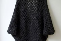 crochet cocoon jacket