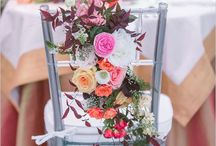 Wedding floral chair decor / Chair decor is one of the most overlooked details. But with the right embellishments, you can transform even a standard folding chair into a beautiful part of your wedding vision.