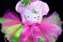 Hello kitty 1 year old party! / by Sharonda