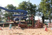 Kyritzer Untersee / mit Strandbad, Bootsverleih, Seepromenade und Insel