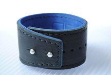 Leren armbanden / Prachtige collectie armbanden van het Nederlandse label Niloo. Verkrijgbaar in de webshop van www.leatherlicious.nl