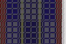 Hand weven patroon 1
