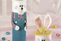 Tray Favors Easter / Easter  tray favors  / by Leona Jerden