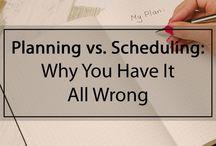 Planning & Scheduling = Balance
