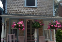 Cottage Style / Cottage exteriors and decorative touches / by Peg Stoodley