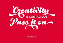 Design and Creativity Quotes / Inspiration for designers and creatives.