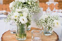 svatební dekorace - stoly, židle