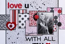 Scrapbook layouts / by Melanie Allen