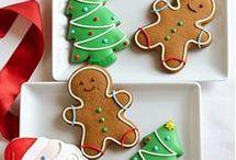 christmas cookies & houses