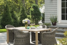 Garden/patio / by Cari Irwin-Morozoff