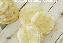 "Recipes / Amazing lemon butter ""crinkle"" cookies!"