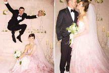 Celebrity Wedding Gowns We Love!