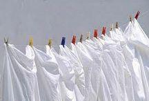 tirar manchas de roupas brancas