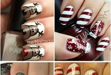 christmas nails / by Angela Middendorff