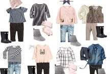 Girls capsule wardrobe