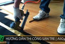 Hướng dẫn thi công sàn gỗ tre / Clip hướng dẫn thi công sàn gỗ tre do Bamboo'Ali thực hiện