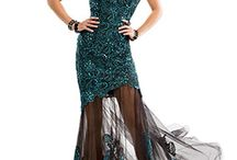 "Dresses ""Party Short Dress/Tulle Long Skirt"" Dresses / Dresses Prom Dresses, Evening Gowns, Homecoming / by Kels Kelsjax"