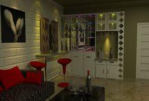 Interior / Mini bar cabinet