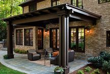 Cozy Patios / Cozy patios with fireplaces, fire pits, BBQs etc.