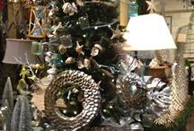 Beachy Christmas Decor / by Hampton Hostess CG3 Interiors-Barbara Page Home