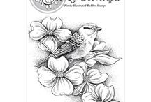 Stamps - Stacy Stamps / Beautiful flower and nature stamps!  Be sure to use PIN10 at checkout at http://classycardsnsuch.com  to receive a 10% discount on your entire order!!