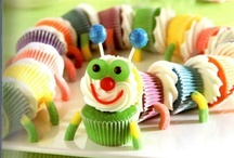 Decorating Idea's for Cakes/Birthday Cake's And Cupcake's For Kid's
