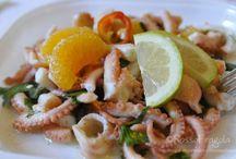 ricette pesce  crostacei e molluschi