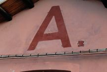 letters & numbers / Photographs I took around Venice, Burano