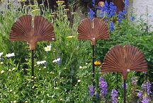 Ceramics for gardens / Signs to use in the garden