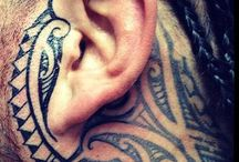Unique Ear tattoo / ear tattoo male for men awesome cool