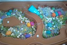 Sensory tables / by Amy H