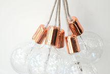 Svítidla z textilních kabelů