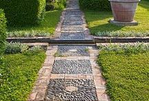 -{ pathways }- / Garden paths