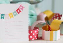 KIDS INVITES / Children's party invitations