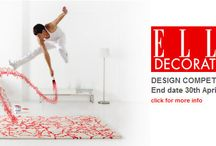Elle Design Competition / The Winner and Runner-Up Designs from our Elle Decoration Design Competition