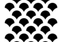 Stencil minták