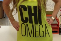 Chi Omega / Chi Omega, We're Chi Omega  C-H-I O-M-E-G-A we're Chi Omega Chi Omega you'll agree its the best sorority  / by Nina Hernandez