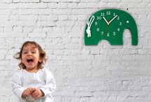 WALL CLOCKS FOR KIDS deko boko / Nice and fresh decorative accent to the KIDS' room.