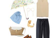rainy day / #雨の日 #fashion #ファッション #women #レディース #OOTD #style #outfit #outfits #coordinate #コーディネート #コーデ #ponte #ponte_fashion