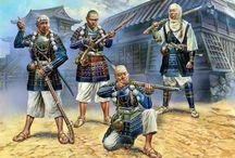 16-17TH-JAPAN SAMURAIS-1561-1600