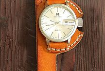 Watch leather strap