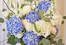 Josefines bröllop / Idéer till blomsterdekorationer