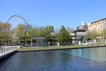 Budapest Eye / A 65 m high Ferris Wheel on Erzsébet Sqr., from mid-April till end of September: