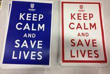 Keep Calm and Save Lives