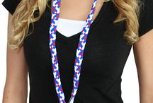 Pom Lanyards / Pomchie products are soft, fun and waterproof, made from washable Oeko Tex approved swimwear fabric. With over a thousand unique color combinations the possibilities are endless.